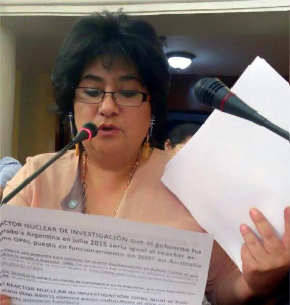 Jimena Costa diputada de Unidad Demócrata