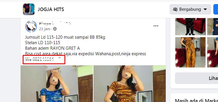 Cara memndapatkan nomer whatsaap dari facebook