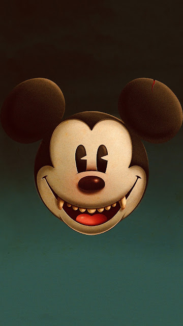 Papel de Parede Mickey Vampiro