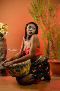 Meet Matilda Joseph Oluwafunto, The Lady Who Started Modelling At The Age of 10