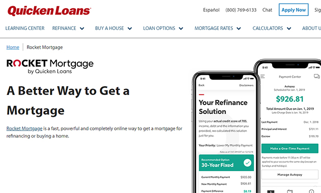 Rocket Mortgage by Quicken Loans to Simplifying the Mortgage