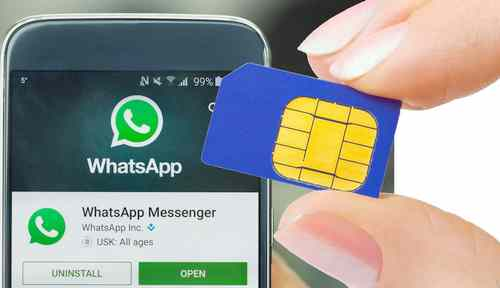 Gagal install WhatsApp kartu SIM baru