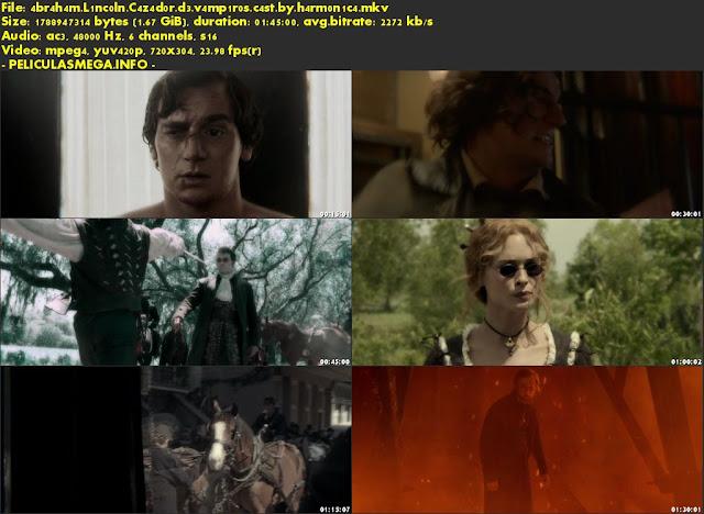 Descargar Abraham Lincoln: Cazador de vampiros Castellano por MEGA.