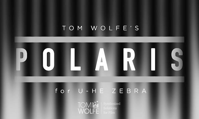 uhe zebra synth polaris by tom wolfe