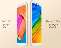 Murah !!! Xiaomi Redmi 5 (RAM 3/32 GB) dan Redmi 5 Plus (RAM 4/ 64 GB), Harga Mulai 1,7 Jutaan