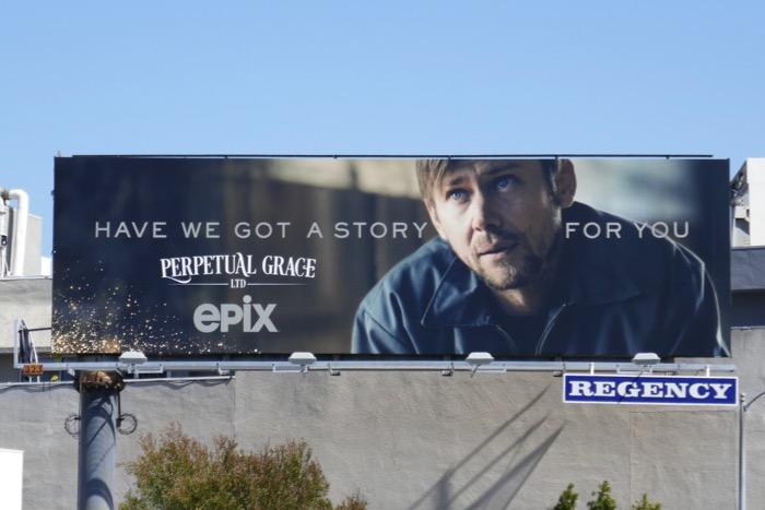 Perpetual Grace Ltd series teaser billboard