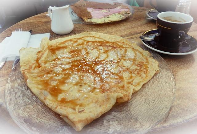 caramel-pancake