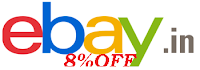 ebay 8%off coupon code