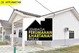 Jawatan Kosong di Lembaga Perumahan Dan Hartanah Perak.