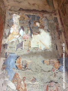 Santa Maria Antiqua palimpsesto Guia Roma Portugues - Igreja de Santa Maria Antiqua no Foro Romano