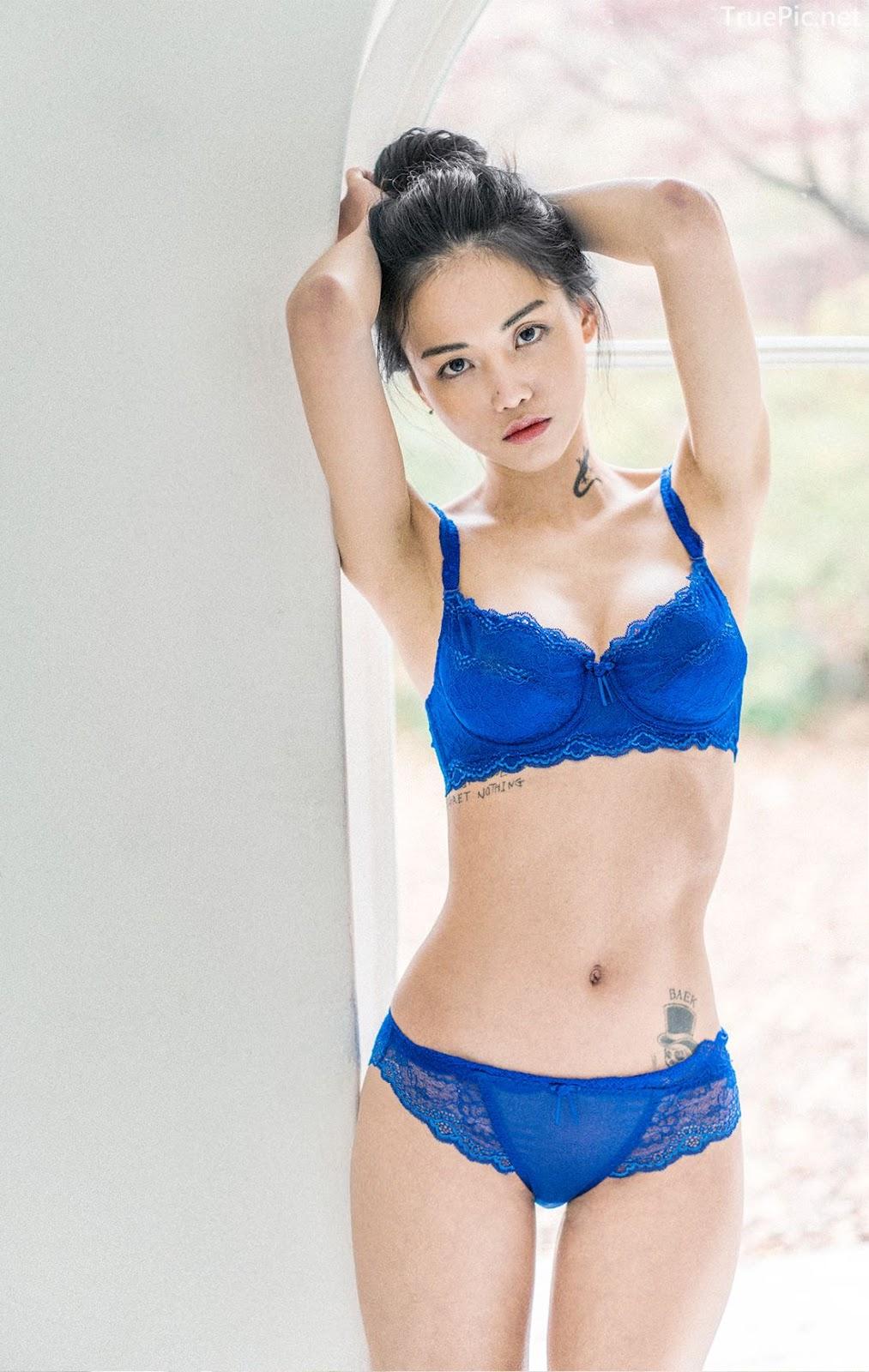 Korean Fashion Model - Baek Ye Jin - Sexy Lingerie Collection - TruePic.net - Picture 5
