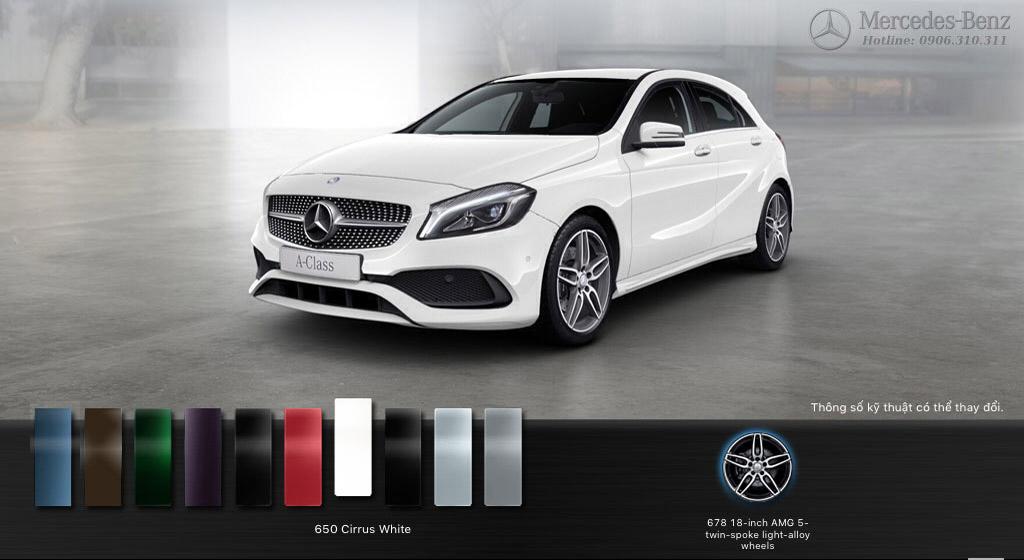Kết quả hình ảnh cho Đánh giá: Thông số kỹ thuật, thiết kế bảng giá Mercedes A250