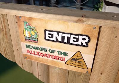 Gator Adventure Golf at the Escape Entertainment Venue in Chorley