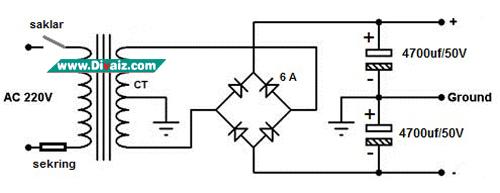Skema Adaptor Trafo CT 5 Ampere