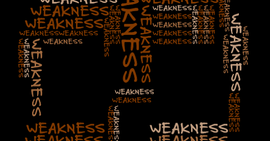 Weakness - Facing MS symptoms from A to Z