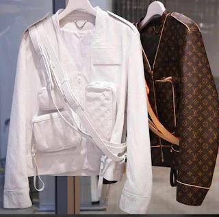 Aba Version Of Wizkid's Louis Vuitton Jacket