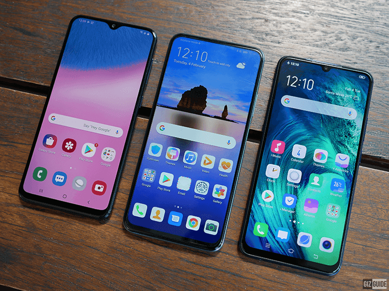 Neat screens with slim bezels