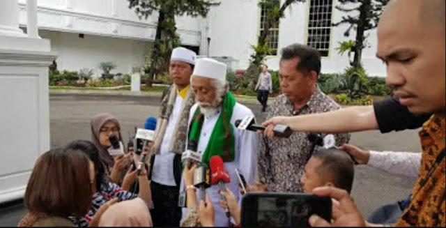 Ulama Banten Datangi Istana, Doakan Jokowi Menang Pilpres