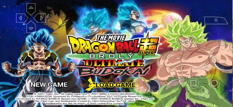 Dragon Ball Super Movie PPSSPP Shin Budokai 2 MOD