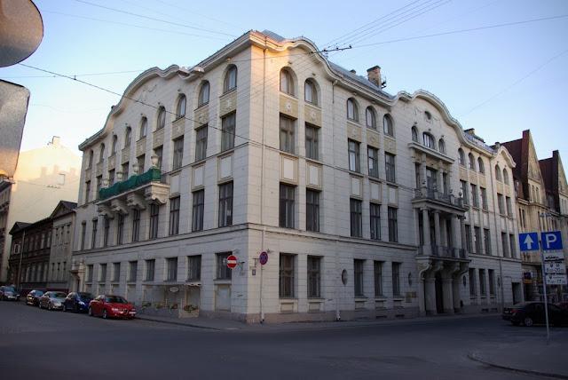 Здание рижской еврейской общины