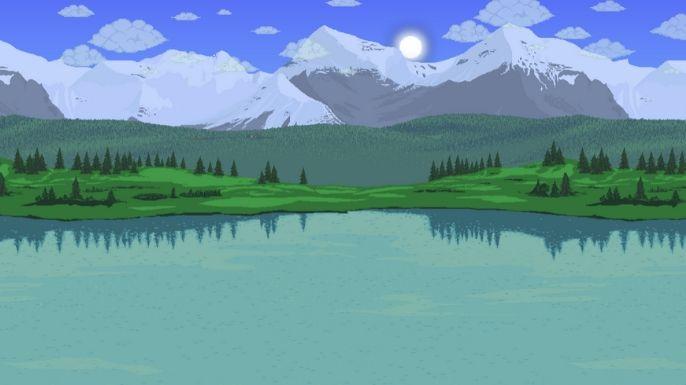 Uma bela paisagem para apreciar