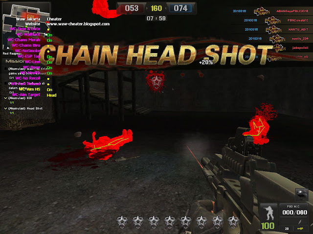 Waw Cheater 30, 31 Agustus - 1 September
