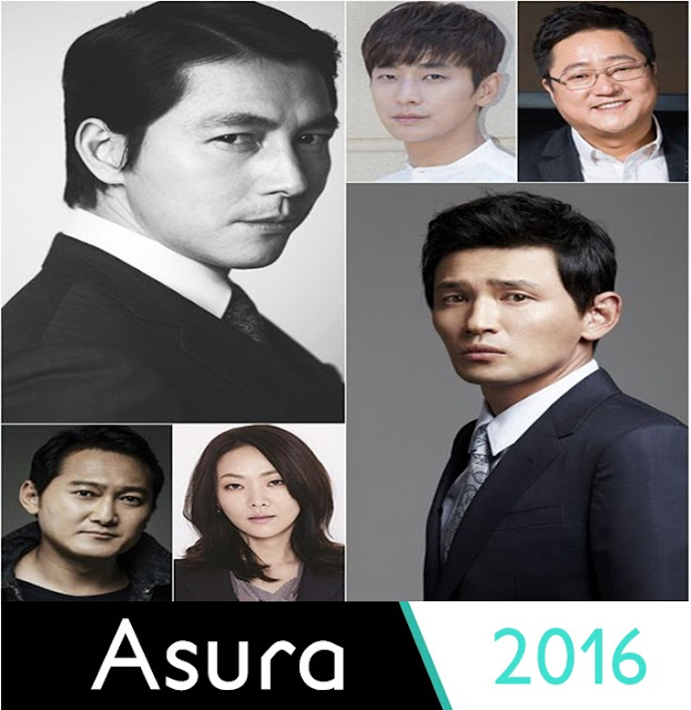 Asura Upcoming Korean Movie 2016 - Jung Woo Sung