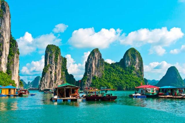 tranh phong cảnh Thành Phố Hạ Long