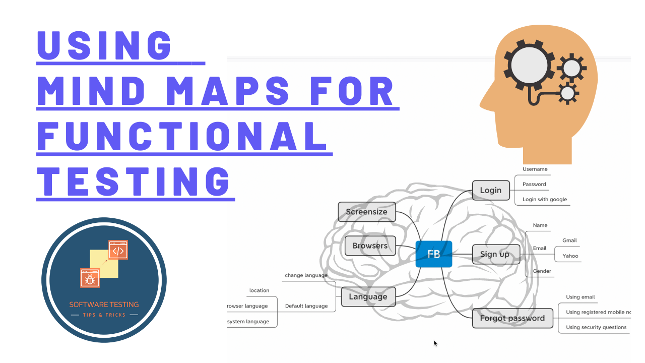 Using mind map for functional testing