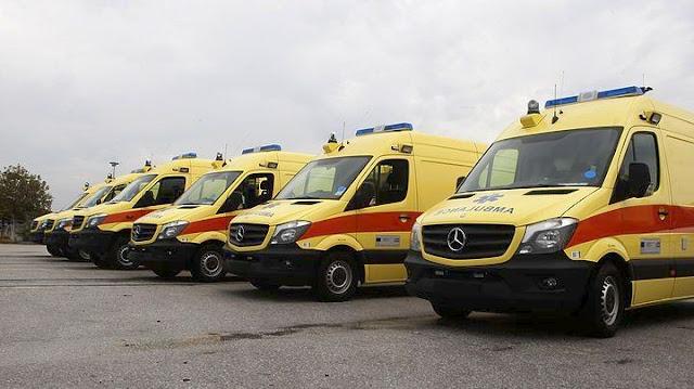 Υπεγράφη η σύμβαση για δωρεάν συντήρηση και επισκευή 143 ασθενοφόρων