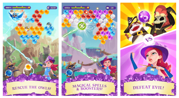 Bubble Witch 3 Saga Mod Apk