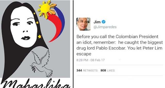 Jim Paredes Addresses Netizens Claiming He Has Video: Maharlika Burns Jim Paredes On Claims That Colombian
