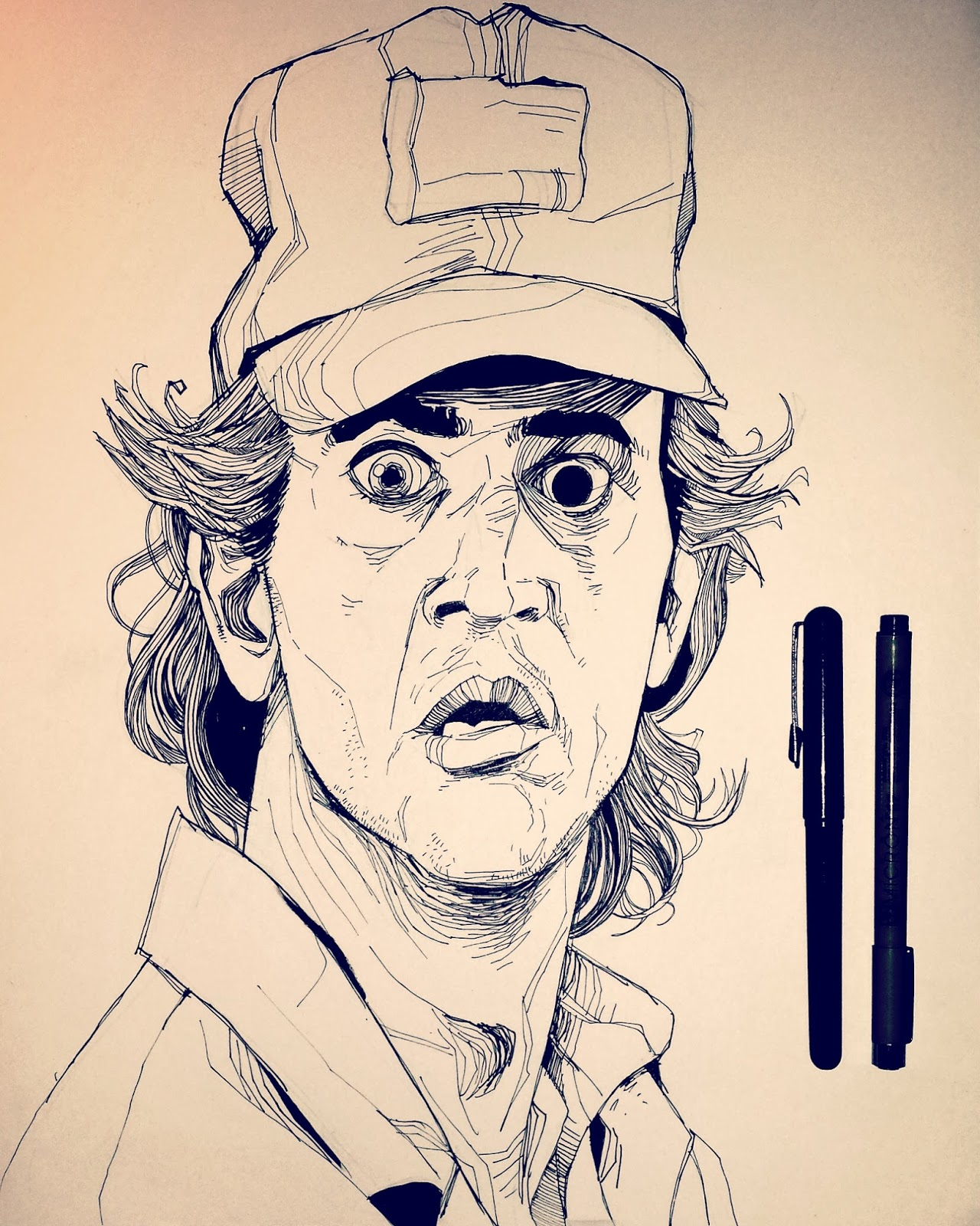 Drawing Mel Gibson Lethal Weapon