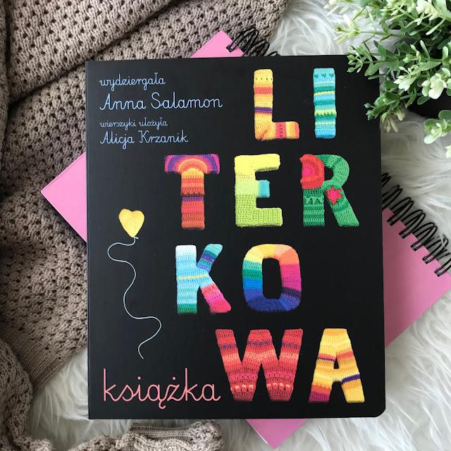 Anna Salamon, Alicja Krzanik -  Literkowa książka