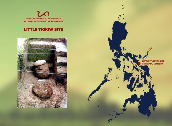 Tigkiw na Saday - Prehistoric Jar Burials [Little Tigkiw Site - Casiguran, Sorsogon]