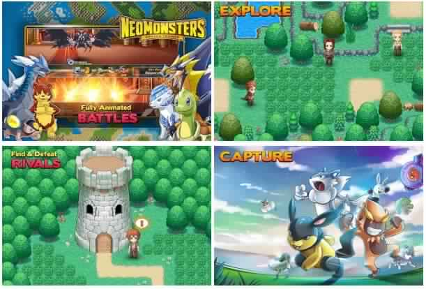 Neo monsters apk mod download