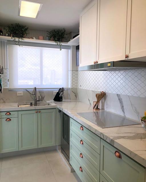 cozinha-projetada- arquitetura-verde-menta
