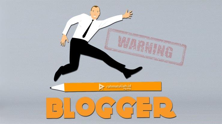 Blogger-warning