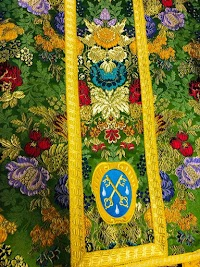 Custom Gammarelli Vestment with Baroque Coat-of-Arms