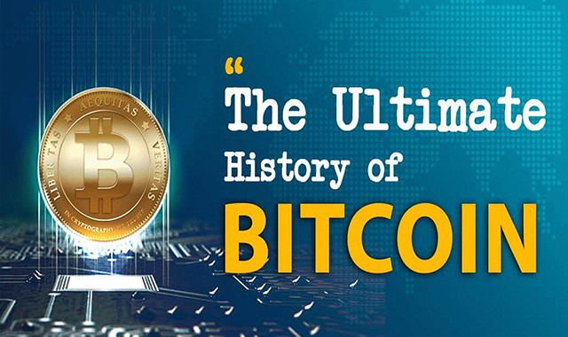 The Ultimate History of Bitcoin #infographic