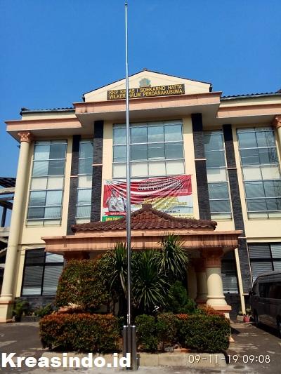 Jual Tiang Bendera Stainless Custome