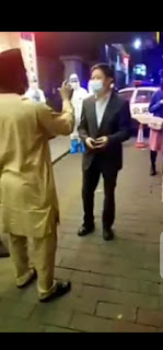 (video) Nigerian Man Confronts Chinese Officials Over Ill-Treatment Of Nigerians