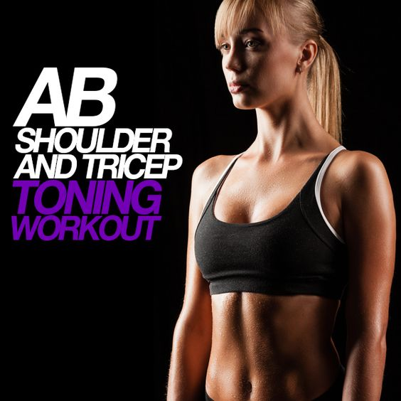 Ab, Shoulder, and Tricep Toning Workout