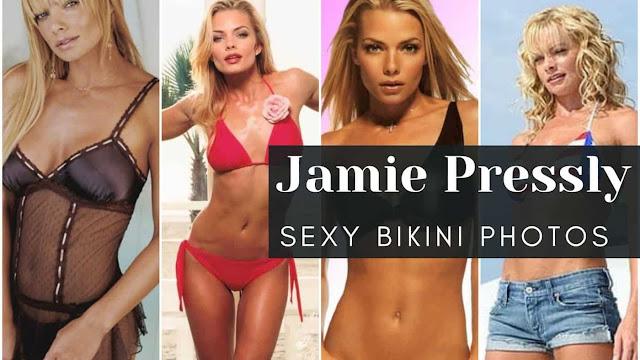Jamie Pressly Sexy Bikini Photos
