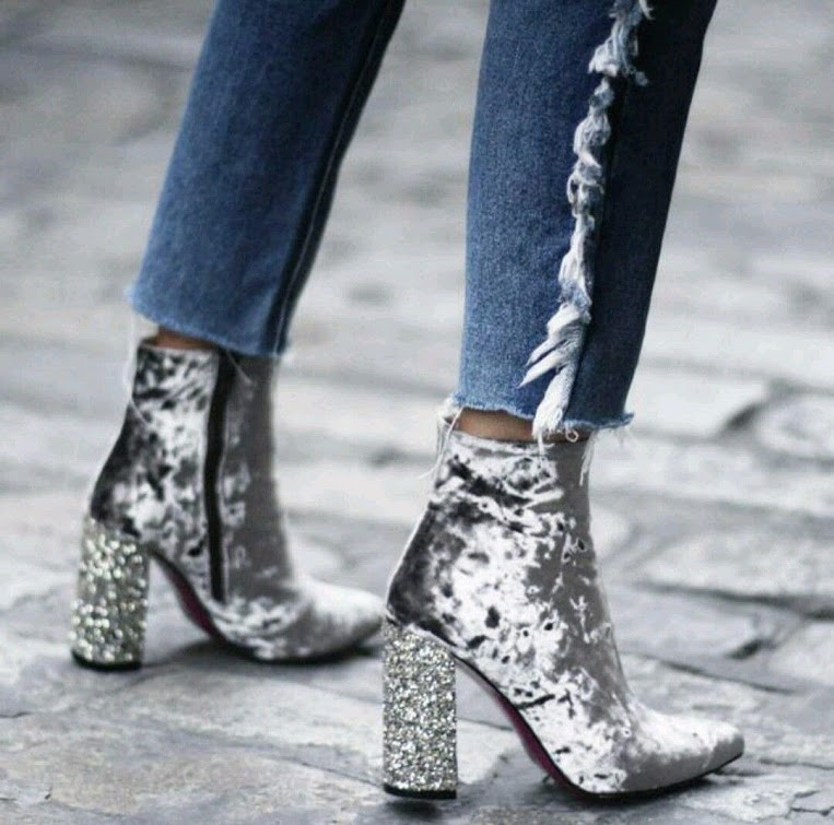 holiday style inspiration silver sequins