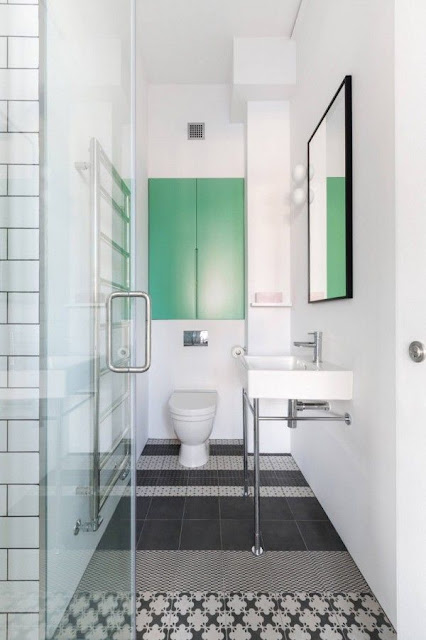 Pop Bathroom Design