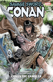 Savage Sword of Conan: Conan the Gambler - Cover