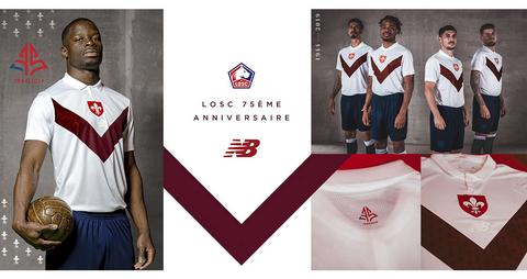 maglie calcio poco prezzo 2020: Kit calcio Lille OSC 2019 2020 ...