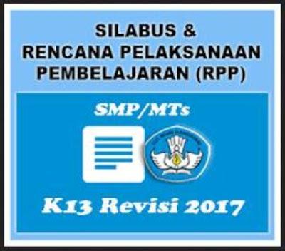 Rpp Smp Kurikulum 2013 Revisi Pada Matpel Bahasa Inggris