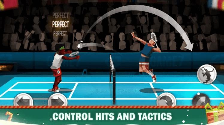 ملخص حول الريشة الدوري Badminton League أبرز لعبة على Google Play حول موضوع لعبة الريشة